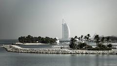Burj Al Arab (Jodi Newell) Tags: burjalarab canon dubai jodinewell jodisjourneys jodisjourneysphotosgmailcom landscape marina water