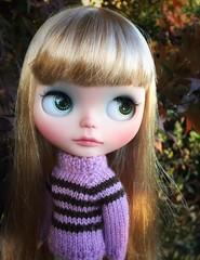 Sweater weather (queenbee2zz) Tags: custom12 rrcustom bl03 octobersgirl calendargirlphotochallenge uma blythe takara