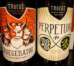 Tregs Troegenator Doublebock Beer and Perpetual Imperial Pale Ale - Hershey PA (mbell1975) Tags: centreville virginia unitedstates us tregs troegenator doublebock beer perpetual imperial pale ale hershey pa bier pivo l cerveza birra cerveja piwo bira bire biere american