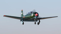 Nanchang CJ-6A N23YK '28' (ChrisK48) Tags: 28 81703 1973 aircraft airplane cj6 coolidgeaz coolidgeflyin coolidgemunicipalairport n23yk nanchangcj6a nanchangchina p08