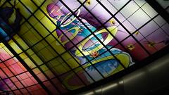 P1040033 (Nog-Z) Tags: 台湾 高雄 カオシュン 地下鉄 駅 taiwan kaohsiung subwaystation 美麗島駅 ステンドグラス formosaboulevardstation stainedglass