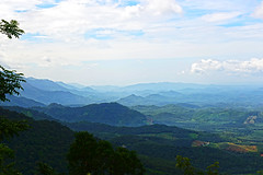 IT IS A CONFRONTATION BETWEEN BLUES AND GREENS (GOPAN G. NAIR [ GOPS Photography ]) Tags: gops gopsphotography gopsorg gopangnair gopan photography kerala wayanad green greenery india westernghat
