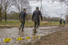 its a walk in the park.. (stevefge) Tags: berendonck strongviking viking mud event people candid men nederland netherlands nederlandvandaag reflectyourworld