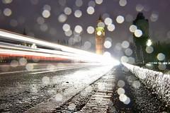 Westminster Bridge (campbell845) Tags: westminsterbridge london uk rain bigben lighttrials nightsky nightscape nightphotography longexposure nikon night
