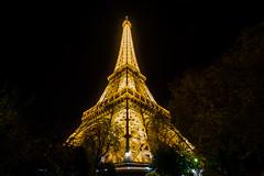 La dame de fer (M'sieur Sub !) Tags: paris tour effeil tower pose exposure night nuit france