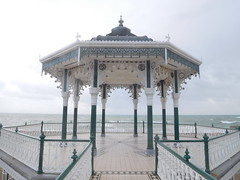 The Bandstand, Brighton, England, opened in 1884, restored and reopened in 2009, to become one of the finest Victorian bandstands in England, 17th November 2016. (HooBoy2000) Tags: brighton bandstand
