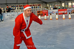 Liam Smith on the ice (James O'Hanlon) Tags: santadash santa dash katumba liam smith paul stephen liamsmith paulsmith stephensmith alankennedy philipolivier tinhead alan kennedy btr juliana ritchie photo shoot press ice rink icerink lfc