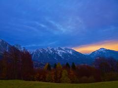 Montagne brizzolate (Fernando De March) Tags: alpago autunno colori neve brizzolate tramonto