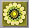 Tile by Clive Simmonds (robmcrorie) Tags: clive simmonds 1960s intaglio studios circle tile ceramic