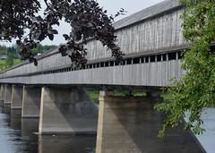 Covered Bridge (RockN) Tags: coveredbridge longest hartland newbrunswick canada stjohnriver