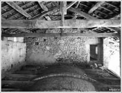 SWEETNESS (MEGATELUS) Tags: fienile piemonte freddo volta mattone buco pietra legno capriata tetto botte fieno paglia polvere silenzio agricoltura