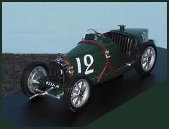 BUGATTI Type 35B - 1929 GP Monaco - 1/43 (xavnco2) Tags: modlesrduits autos automobile diecast models classic car 143 bugatti type 35b 1929 grandprix monaco verte green cofradis