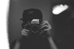 """Belle"", my '67 Nikon F Photomic FTN (jbrighamphotography) Tags: nikon photomic ftn nikkor kodak trix nikonf firstoftheroll selfportrait 400tx bokeh"
