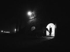 The barn. (manganlundin) Tags: barn stable horses ns olympus omd night dark darkness