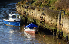 Seaton Sluice boats (DavidWF2009) Tags: northumberland seatonsluice boat harbour water