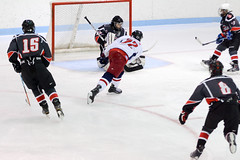 "DSC_0666 (Steve Gerke) Tags: 22 bowlinggreen bowlinggreenicecats icecats bowling green ice cats dayton daytonstealth hockey lcahl littlecaesars littlecaesarsamateurhockeyleague little caesars hockey"" stealth goal"