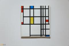 Piet Mondrian MOMA NYC 01 (Eva Blue) Tags: pietmondrian compositioninred blue andyellow moma newyork nyc evablue