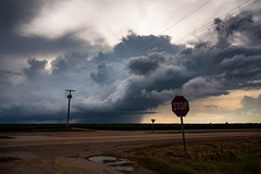 Delta Storm (clay.wells) Tags: arkansas summer canoneos5dmarkii june delta weather rural lakevillage thunderstorm 2016 ef1740mmf4l rain clouds