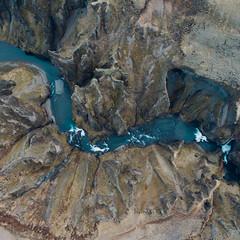 Fjarrgljfur Canyon (wrenee.com) Tags: south iceland is drone phantom4 wrenee fjarrgljfur canyon iceage fjadrargljufur ringroad roadtrip camper