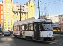Antwerp Central Belgium 4th December 2016 (loose_grip_99) Tags: antwerp belgium antwerpen centraal station railway railroad rail learner tram city citiscape transportation tramway december 2016