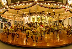 Hampton Carousel (mrbrkly) Tags: downtownhampton downtown hampton virginia nighttime hamptoncarousel carousel