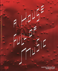A House Full of Music - Strategies in Music and Art (Marc Wathieu) Tags: book livre couverture cover bookcover 2012
