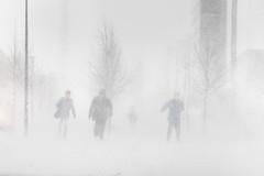 Nice weather (Jasper Kaarna) Tags: winter espoo finnish talvi leppävaara lumimyrsky