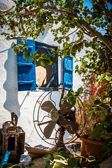 Mykonos Vioma Organic (Sebastian Koenig) Tags: window fan vineyard europe farming aegean greece organic mykonos vioma