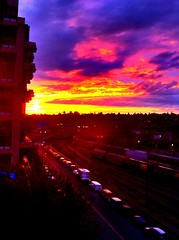 Anniversary sunset (Mark Faviell Photos) Tags: renaissancesquare uploaded:by=flickrmobile colorvibefilter flickriosapp:filter=colorvibe