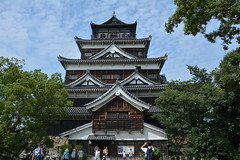 Hiroshima Castle (AykutPamuk) Tags: castle japan museum garden memorial peace hiroshima dome bomb atomic shukkeien