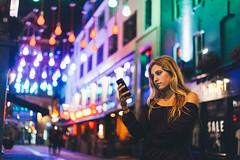Cell-phone (Leo Hidalgo (@yompyz)) Tags: world christmas street summer portrait color london love film colors canon photography eos 50mm lights luces reflex neon random retrato cam like explore londres carnaby create dslr 18 6d fotografa vsco ileohidalgo yompyz