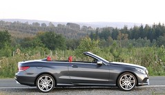 E 350 Bluetec Cabrio. (Tom Daem) Tags: sunset f1 350 e spa cabrio bluetec autojunior