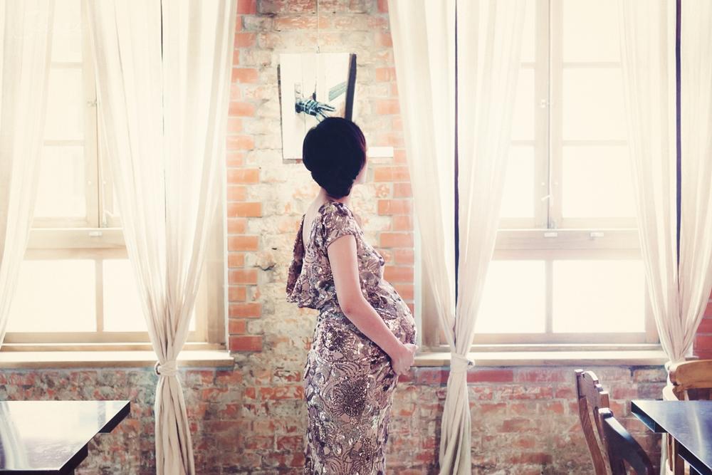 女攝影師孕婦寫真拍攝作家葉陽孕婦寫真攝影師華山文創產業園區 好樣思維 VVG Thinking