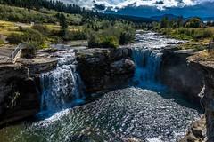 Lundbreck Falls; near Crowsnest Pass, Canada.