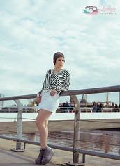 Brendita (www.facebook.com/LuciaOscanoaFotografia) Tags: woman girl outside photography mujer nikon bella luckys futurista