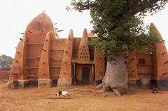 Mosque -Larabanga - Ghana (wietsej) Tags: mosque larabanga ghana goat wietse jongsma wietsejongsma
