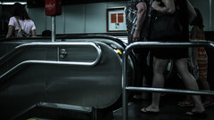 IMG_0425-2 (yuzvir) Tags: wien people subway austria metro escalator movingstaircase at