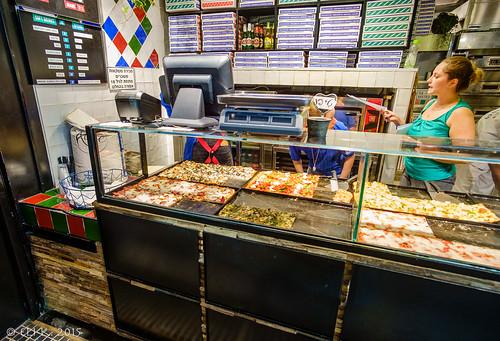 Pizza, Sarona Market, Tel Aviv