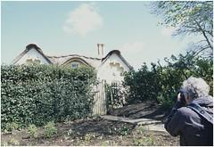 Photographer at work (aryel.beck) Tags: park house london photographer minolta outdoor united kingdom slide richmond agfa richmondpark x700 x570 agfaslide100 mc28mmf2