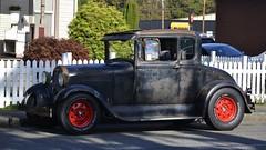 Ford Model A 5-Window Coupe (Custom_Cab) Tags: street black hot ford window car model 5 rusty rod custom 1928 coupe 1929 kustom 5window a