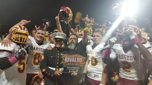 """Victor Valley vs Barstow 10/7/15 -  10/9/15 • <a style=""""font-size:0.8em;"""" href=""""http://www.flickr.com/photos/134567481@N04/22080303021/"""" target=""""_blank"""">View on Flickr</a>"""