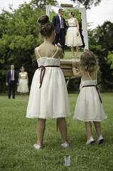 Peinture enfant (vdb.pierre) Tags: wedding men robert composition children costume women couple robe femme adrianna montage mariage enfant homme