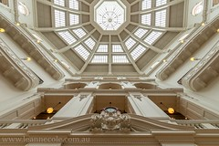 Domed Reading Room (Leanne Cole) Tags: architecture nikon photographer photos library images environment fineartphotography architecturalphotography statelibraryofvictoria latrobereadingroom environmentalphotography domedreadingroom fineartphotographer architecturalphotographer environmentalphotographer leannecole leannecolephotography