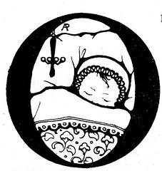 Het wilde Meisje j 30 ill  Anton Pieck  b vignet (janwillemsen) Tags: bookillustration antonpieck 1930ies