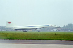 TU-144 on ground (Svein K. Bertheussen) Tags: fly aircraft airshows lebourget parisairshow tu144 concordski luftfart supersonicluftfarty