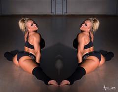 MinnaTupla7 (Anssi Lauri Photography) Tags: ass sport dance athletic model booty athlete fitness flashdance muotokuva peilikuva dancinghouse sidesplit ifbbpro bikinifitness minnapajulahti anssilauriphotography