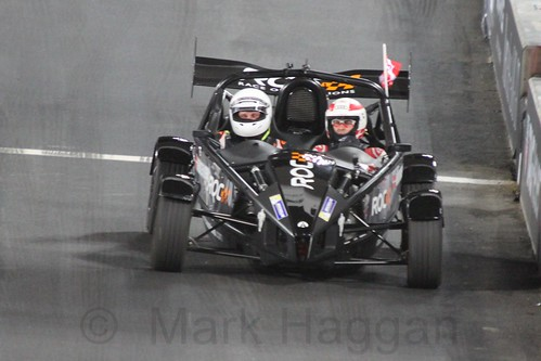 Tom Kristensen in The Race of Champions, Olympic Stadium, London, November 2015