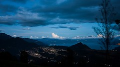 Clouds (fsojuel1) Tags: life blue light lake night clouds word landscape travels mirador