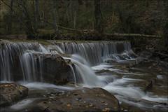 Cascada (Explore) (Jose Cantorna) Tags: agua nikon otoño alava seda euskadi araba cascada piedra d610 fdlqalavavision0129diciembre2015