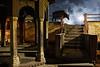Moody night - Varanasi, India (Maciej Dakowicz) Tags: india varanasi benares night animal cow mood atmosphere moody religion smoke
